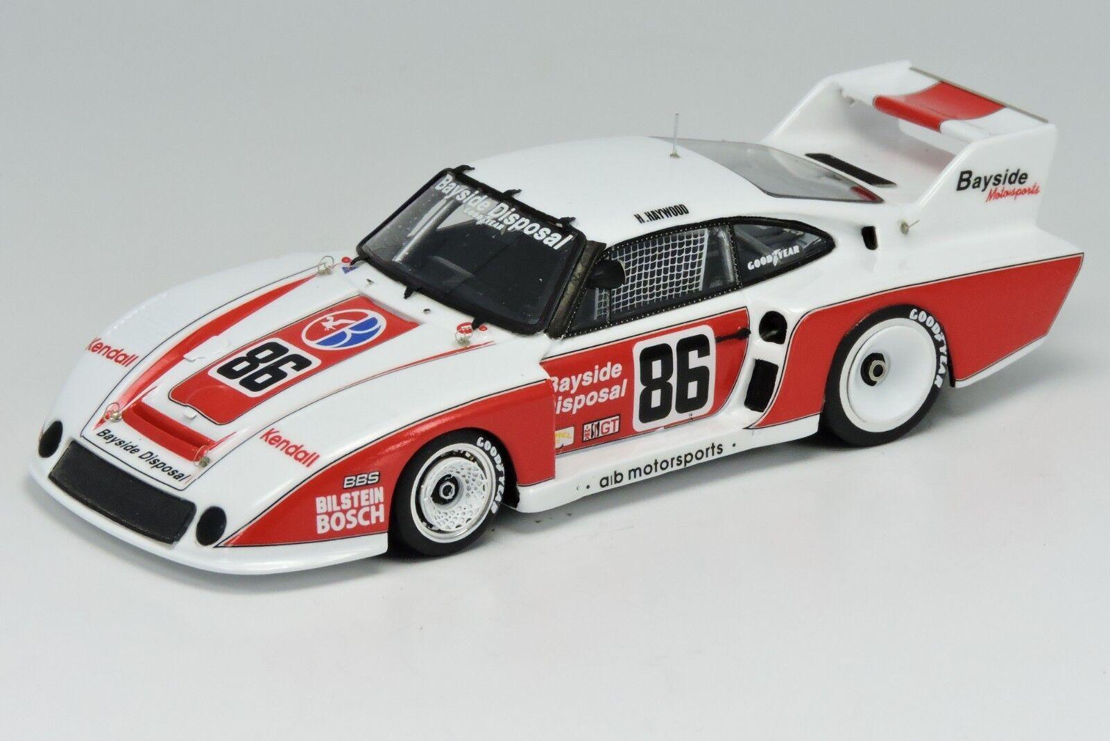 <kit Porsche 935/80 #86 #86 #86 Pocono 1981 - Arena Models kit 1/43 | Magnifique  cb699c