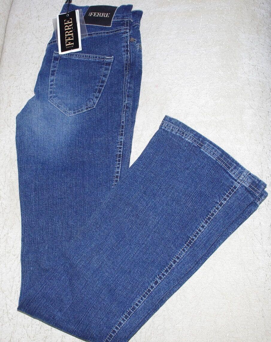 Nuevo con etiquetas  GF Ferre Azul Flare Mujer Denim Talla  29  Venta barata