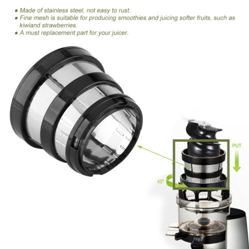 Slow juicer Maille Fine Filtre petit trou pour Hurom HH-SBF11 HU-19SGM pièces détachées