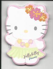 Sanrio Hello Kitty Sticky Notes Hawaii 30 Sheets Diecut Hula