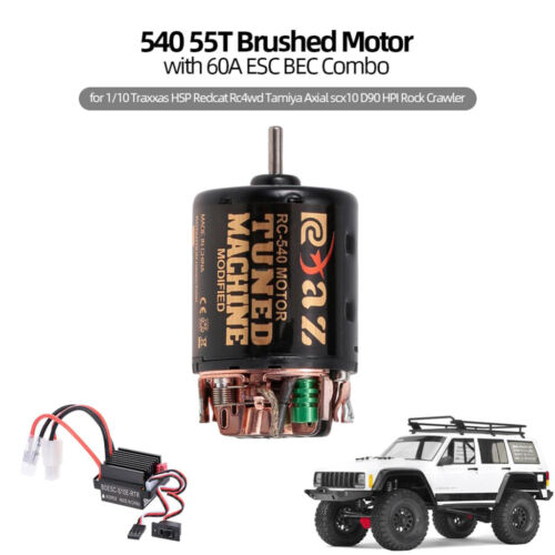 ESC Combo for HSP Redcat Rc4wd Tamiya D90 HPI Parts 540 Brushed Motor 35T