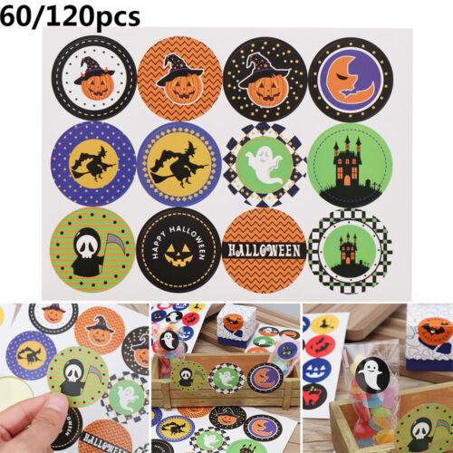 Boxes Seal Label Festival Decoration Halloween Pumpkin Ghost Handmade Sticker