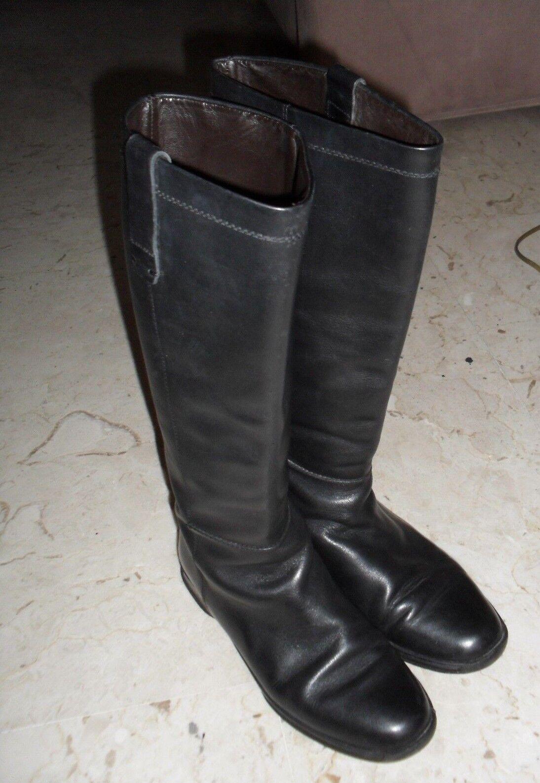 stivali hogan in vera pelle originale n. 36 prezz. affare