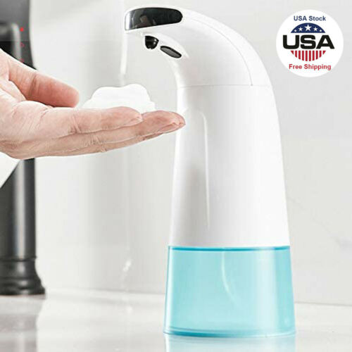 No-Touch-Infrared-Motion-Sensor-Automatic-Soap-Dispenser-Foam-Hand-Washer-250ML