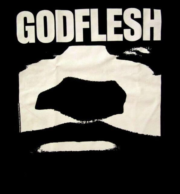 GODFLESH cd lgo GODFLESH FACE Official SHIRT LRG new