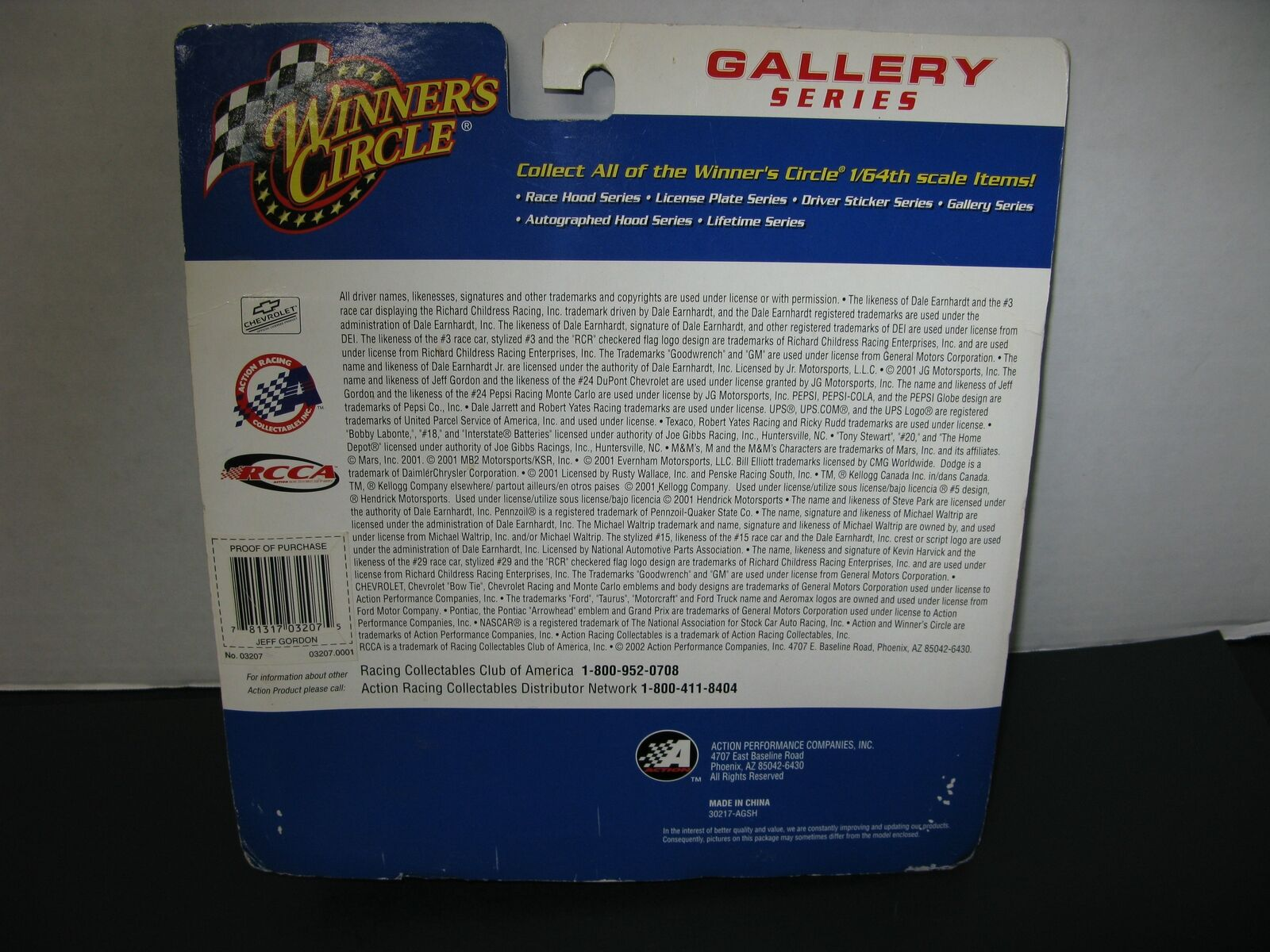 Jeff Gordon  Framed Art and 1 64th 64th 64th Scale Car 4d0ab6