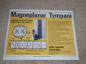 Audio-Research-Magneplanar-Tympani-Ad-1973-Article-Spec
