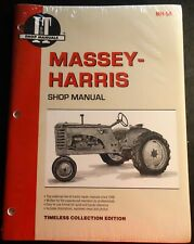 Iampt Massey Harris Tractor Service Manual New 21 23 33 44 55 555 Mh 5a