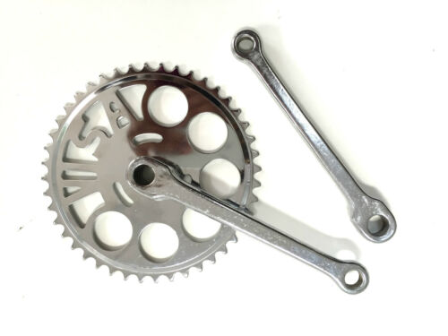 Bike Bicycle Single Speed Alloy Steel Cottered Crankset 44T 170 mm