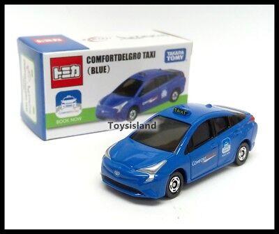 Tomica 50 Toyota Prius Hybird Singapore Taxi Comfortdelgro City Cab Set