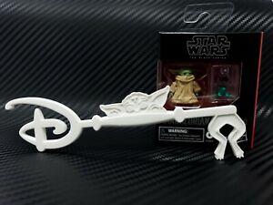 Disney-Baby-Yoda-Key-Star-Wars-The-Child-High-Detail-3D-Print-Custom-White