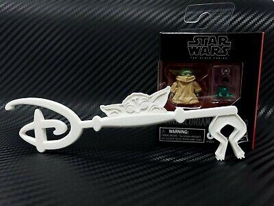 Disney Key 1:1 Accurate Scale High Detail 3D Print Custom DIY Fan Art White