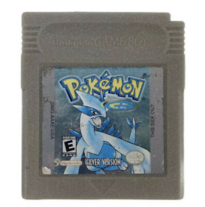 POKEMON-SILVER-EDITION-Gameboy-Color-TESTED-AUTHENTIC-Game-Boy-Nintendo