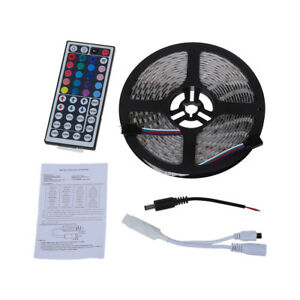 Striscia-Luce-5M-300-LED-SMD-5050-DC-12V-RGB-Impermeabile-B1T4