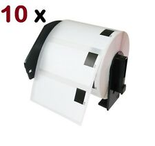 10 Rolls DK-1209 BROTHER Compatible Premium Labels with Holders for QL Printers