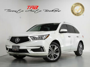 2017 Acura MDX SH-AWD I ELITE I 6-PASS I SUNROOF I 20 IN WHEELS