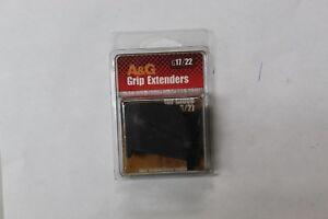 A/&G G17//22 GRIP EXTENDER FOR GLOCK 26 27