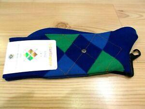 Sock-BURLINGTON-034-King-034-Blue-Green-6052-One-Size
