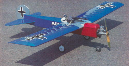 Templates and Instructions 56ws Sort-A-Scale Fokker Sport Airplane Plans