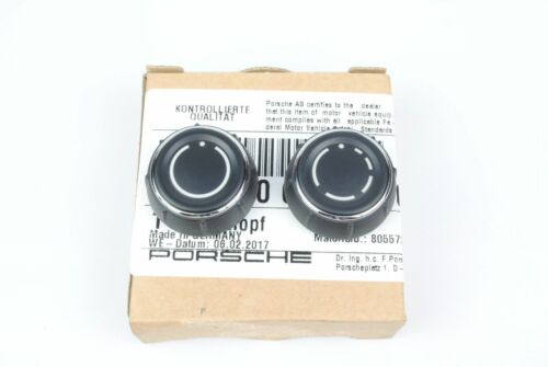 Genuine Porsche Radio Knob Set 981//991 Boxster//Cayman//Carrera//Cayenne//Panamera