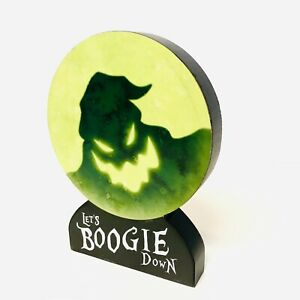 OOGIE BOOGIE Table Top Sign Nightmare Before Christmas NBX