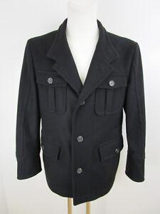 Blouson Wool Giacca Black Joop 52 da Slim Winter Jacket uomo With Unlined SR0pq
