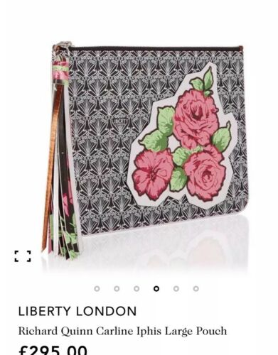 Queen Pouch limitata Hand Patch Lrg London Richard Clutch Edizione Flower Liberty BWoQrdxCeE