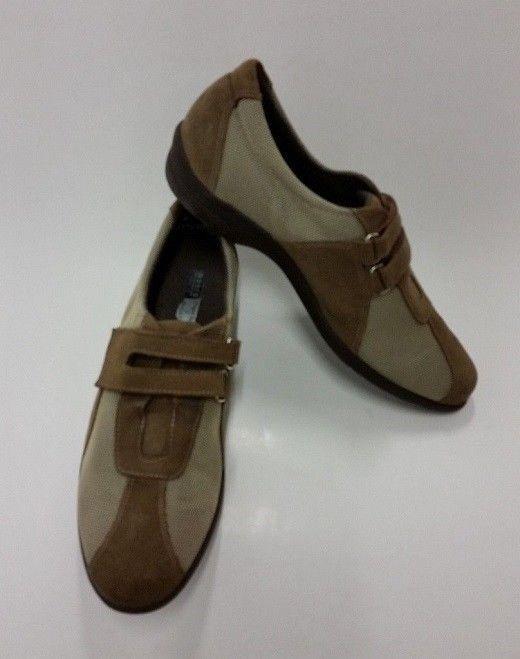 Munro American American American Zapatos Sport Marrón Beige Malla Slip-On Zapatillas para mujer Talla 8 M  a la venta