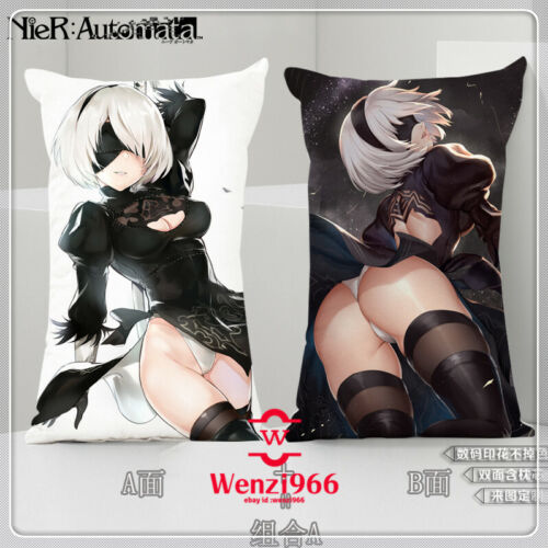 Automata YoRHa No.2 Type B Gift Dakimakura Pillow Case 35×55cm #X81 Game NieR