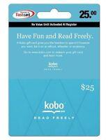 Kobo Gift Card $25