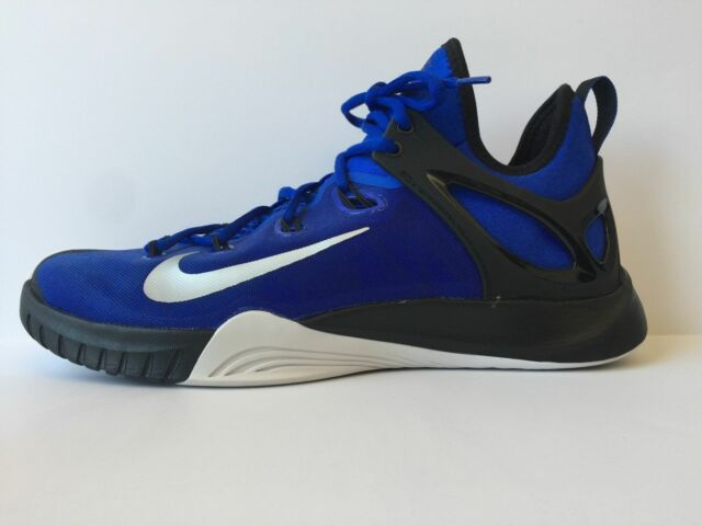sports shoes e0319 cdf44 NIKE ZOOM HYPERREV 2014 ROYAL BLUE MEN S BASKETBALL SHOES 705370-400 SIZE 10