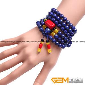 Handmade Tibet Buddha Mala Prayer Rosary Beads Necklace Bracelet For Men Women