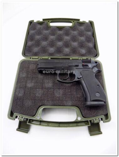 CZ 75 P01,P06,P07 Compact Size Handguns Pistol Plastic Case Lockable Black,Green