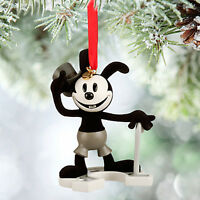 Disney Store Oswald The Lucky Rabbit 2015 Sketchbook Christmas Ornament