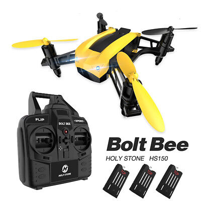 Holy Stone HS150 Bolt Bee Mini Racing Drone micro RC Quadcopter 50KMH High Speed