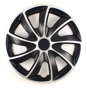 """Juego de 4 de 15 /""""rueda Adornos cubierta tapas de ajuste Ford Fiesta Fusion Regalo Gratis #o"""