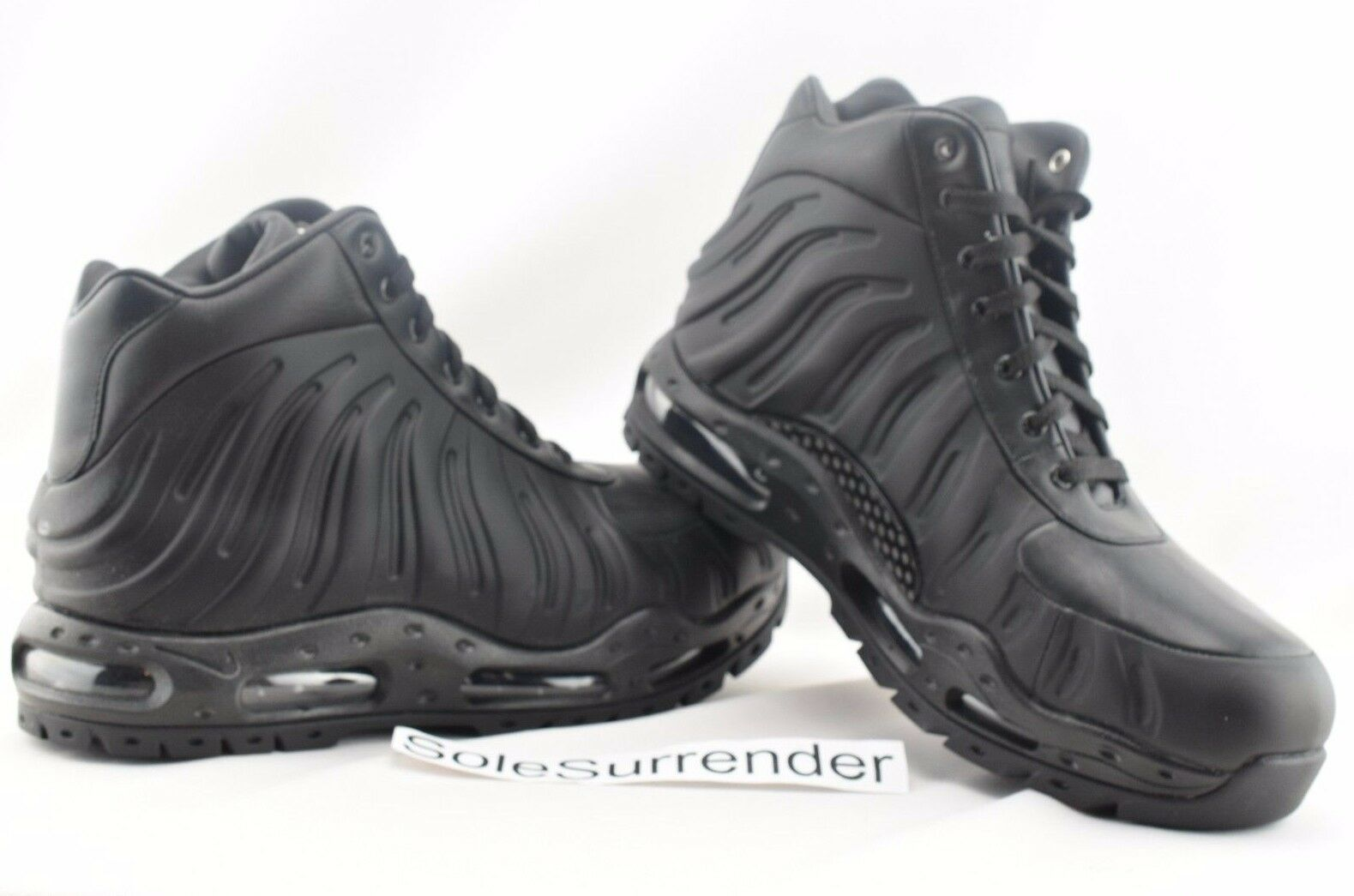 f49797fc7a3 Nike Air Max Foamdome ACG Foamposite BOOTS Black 843749-002 Men s ...