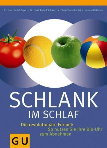 1 von 1 - GU Ratgeber: SCHLANK IM SCHLAF ►►►UNGELESEN  °  Detlef Pape/Gillessen/Schwarz