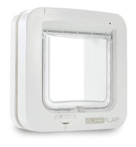 Sureflap-Cat-Flap-With-Microchip-Identification-White-21-X-Cm-White-Pet-Door