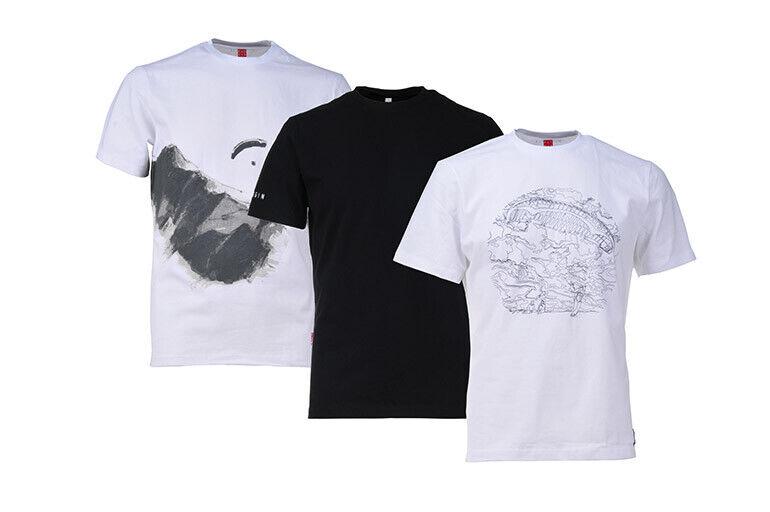 GIN Basic Tshirts L 3pcs