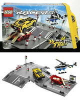 Chopper Jump Lego 8196 - Fold Out Race Track Helicopter Race Car Carry Case