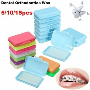 5-10-15-PCS-Care-Fruit-Scent-Dental-Orthodontics-Wax-Teeth-Protective-Wax