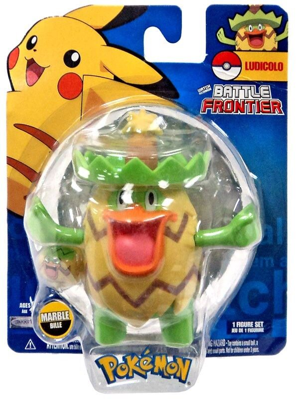 Pokemon Pokemon Pokemon Battle Frontier Series 2 Ludicolo Figure bd7fe5