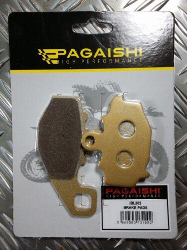 PAGAISHI REAR BRAKE PADS FOR  Kawasaki ER-6F 650 A 6F 2006