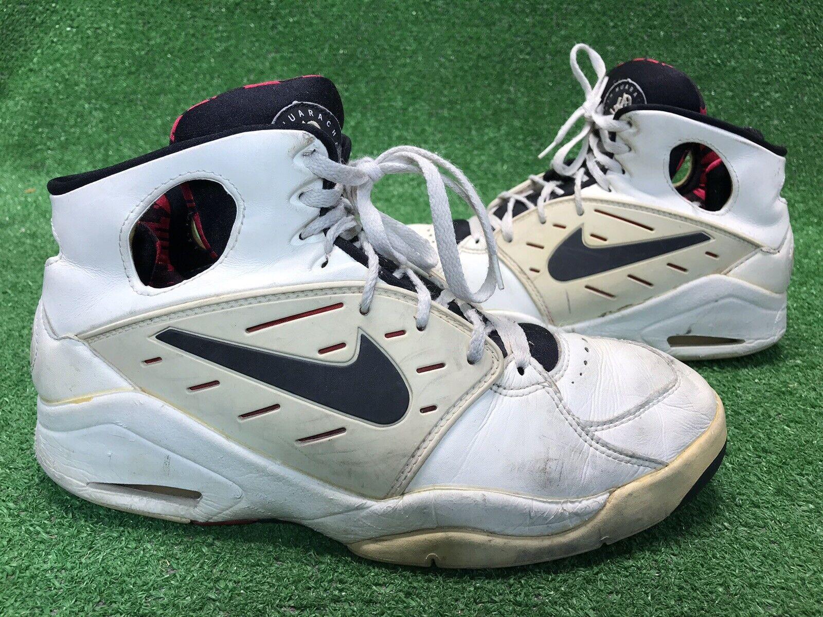 True Vintage NIKE Air Huarache Flight Men's Sneakers shoes White Men's 13 Rare