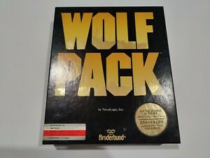 "WOLF PACK IBM-PC 5.25"" Floppy BIG BOX (DOS, 1990)"