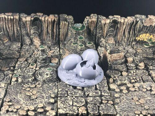 28mm D/&D Miniatures Dragon Eggs
