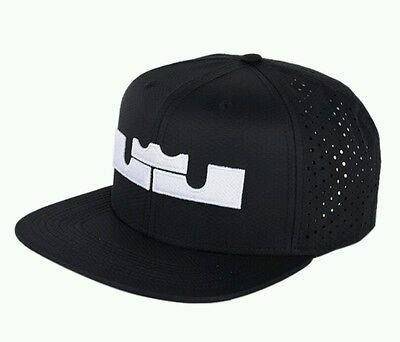 Nike Lebron James Pro Performance Snapback Cap Hat 704503-010 Adult Cavs