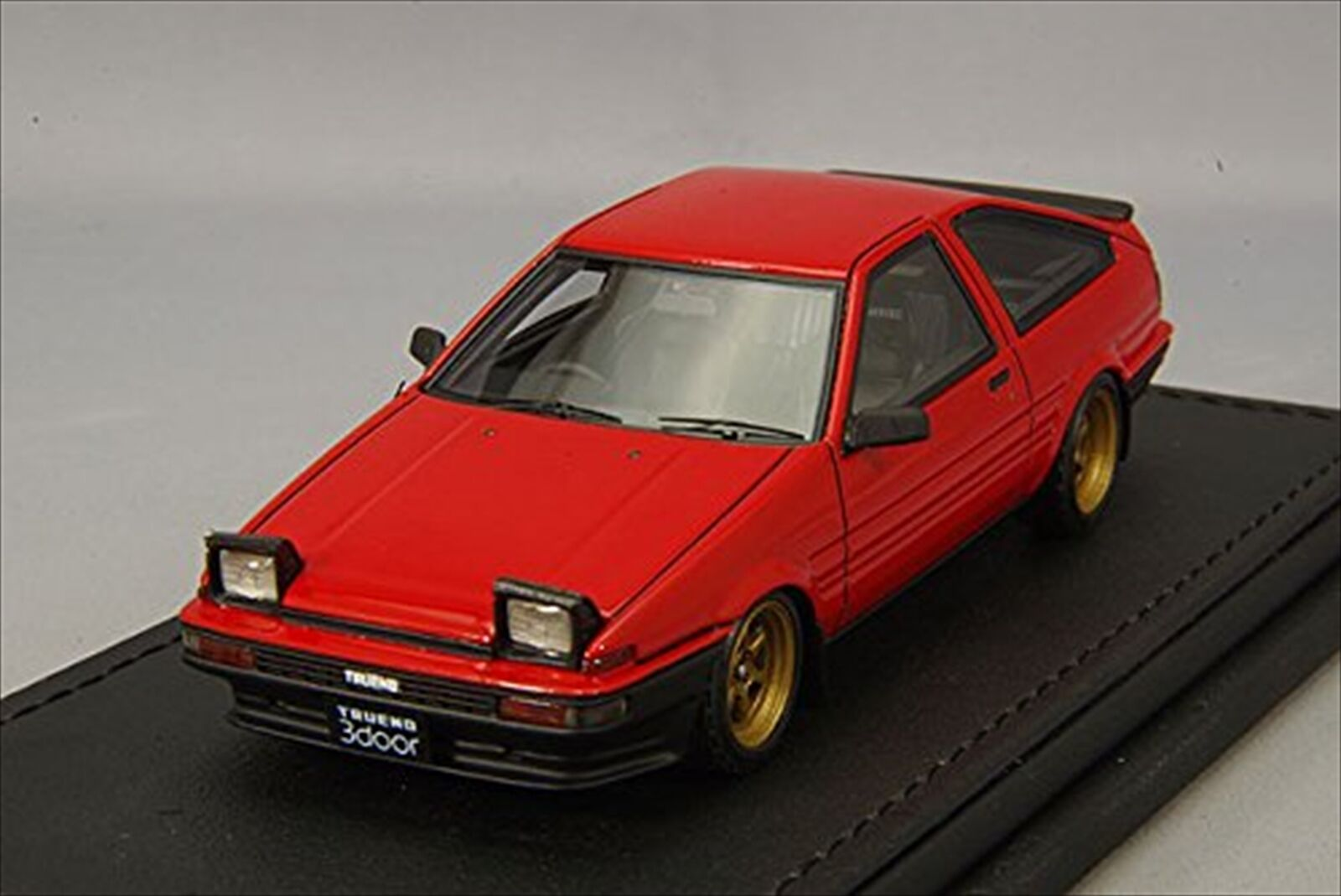Ignition  Model 1 43 TOYOTA SPRINTER TOYOTA 3Dr GTV (AE86) Rouge IG0487 Resin Model  protection après-vente