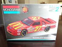 Jimmy Spencer #27 McDonalds T-bird 1 24 scale plastic model kit new Monogram